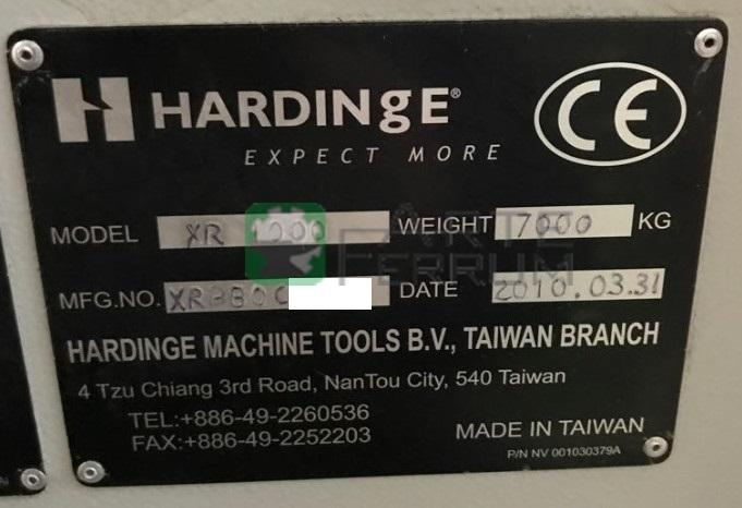 Bridgeport HARDINGE XR 1000 vertical milling center (7)