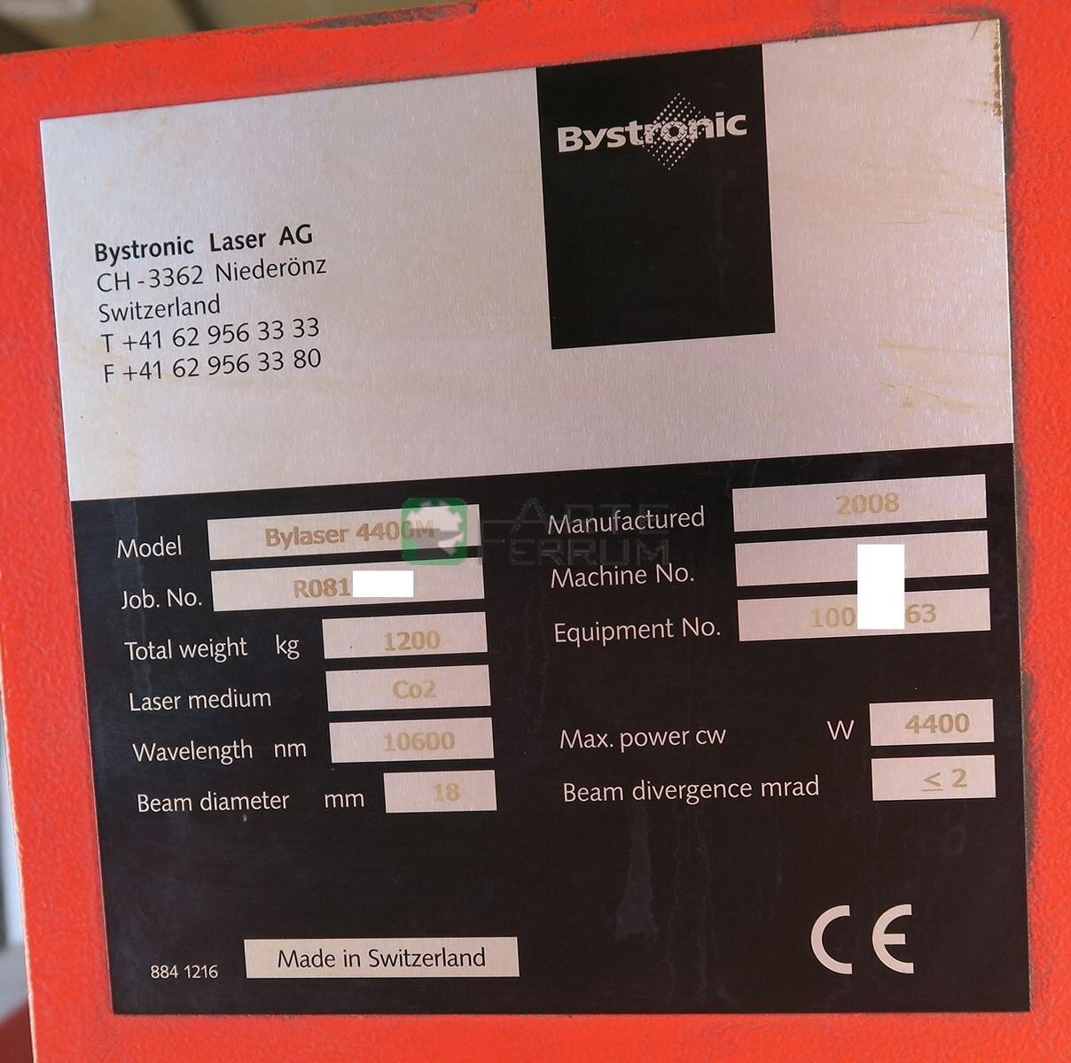 Bystronic ByVention 3015 laser (4)