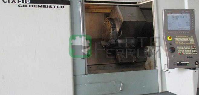 GILDEMEISTER GRAZIANO CTX 510 V4 4 axis cnc lathe