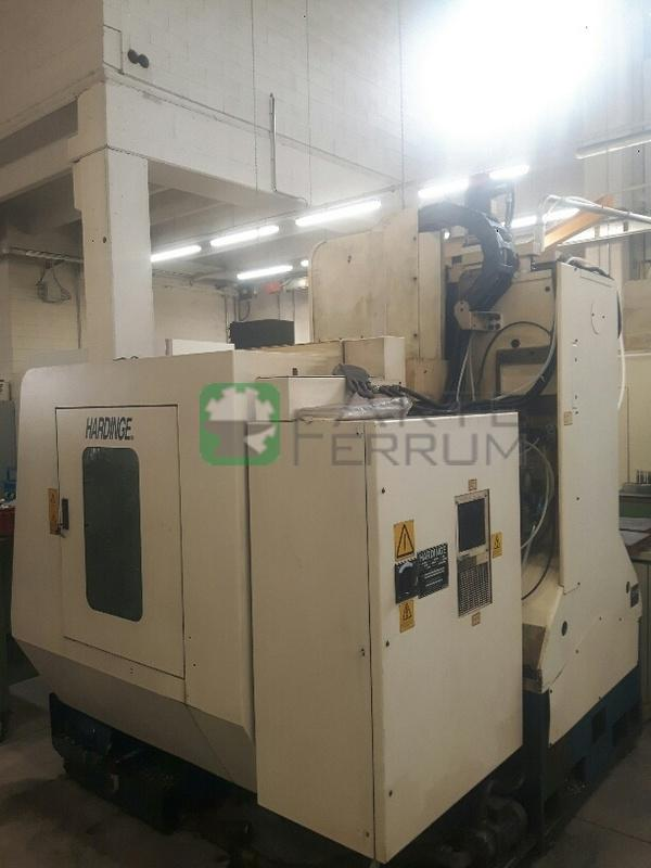 HARDINGE VMC 1000 II cnc vertical machining center (11)