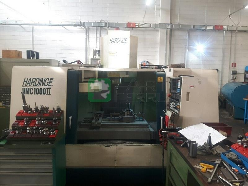 HARDINGE VMC 1000 II cnc vertical machining center (4)