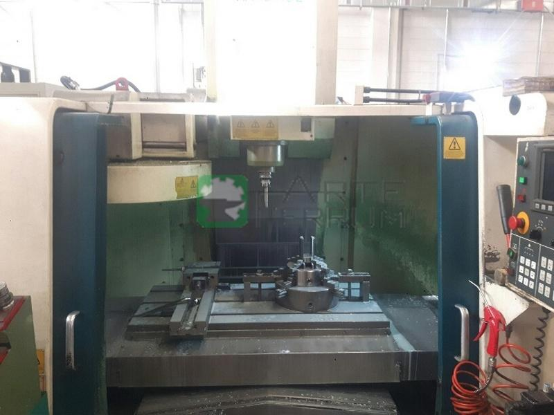 HARDINGE VMC 1000 II cnc vertical machining center (5)