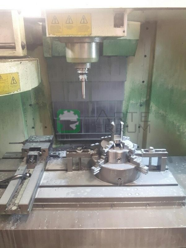 HARDINGE VMC 1000 II cnc vertical machining center (6)