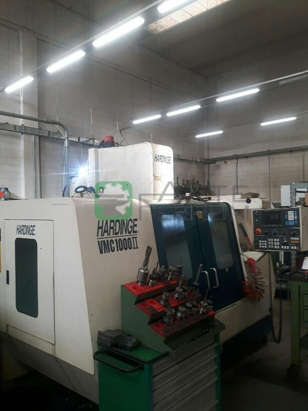 HARDINGE VMC 1000 II cnc vertical machining center (8)