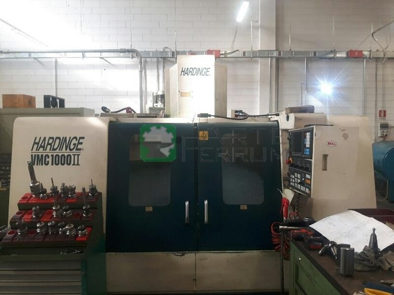 HARDINGE VMC 1000 II cnc vertical machining center