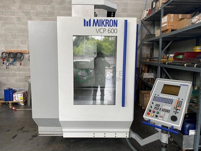 MIKRON VCP 600 4 axis