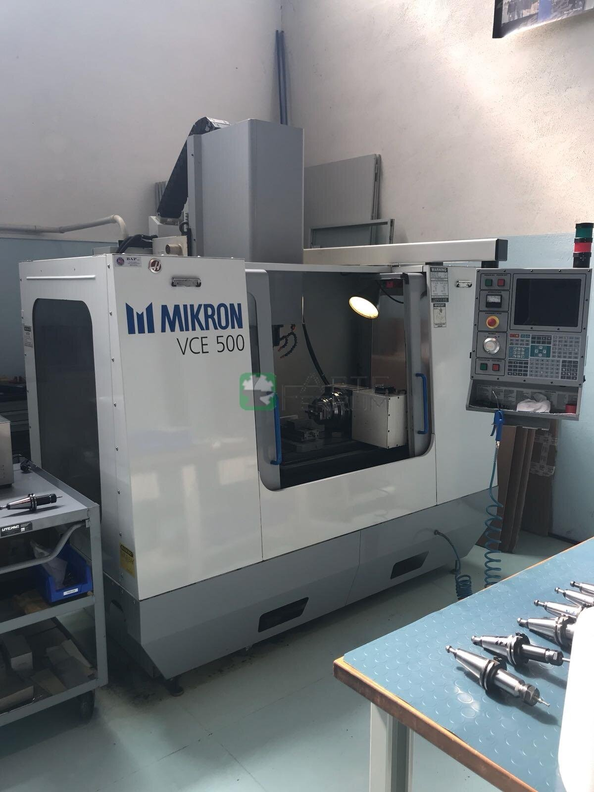 Mikron Haas VCE 500 Vertical Machining Center (1)
