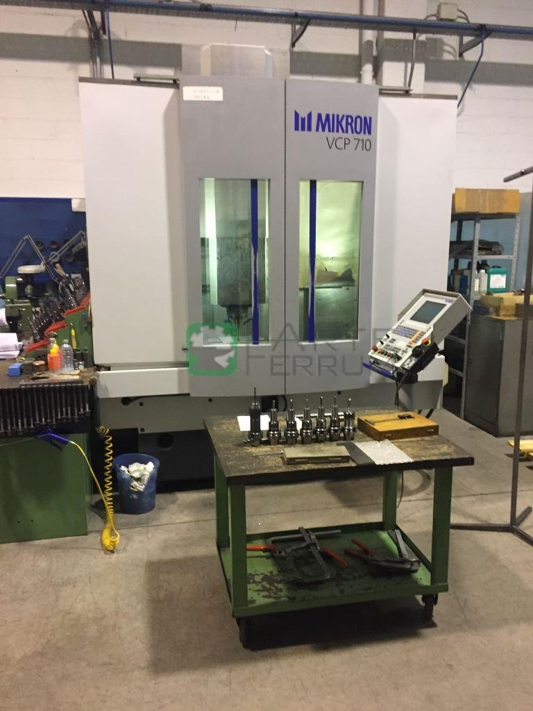 Mikron vcp 710 vertical machining center