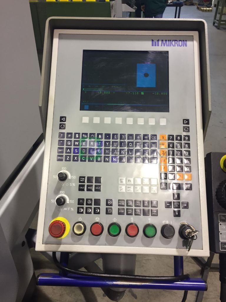 Mikron vcp 710 vertical machining center 5 axis