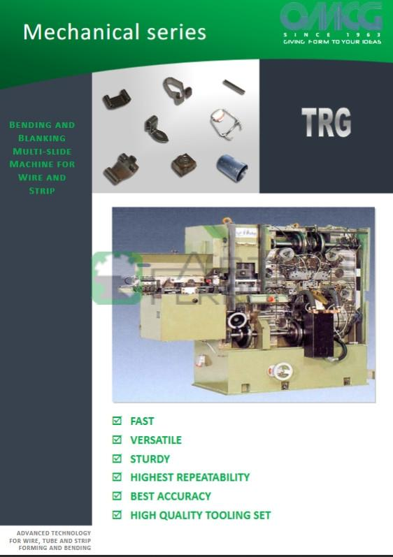 OMCG TRG 30 used blanking and forming mechanical machine combines (11)