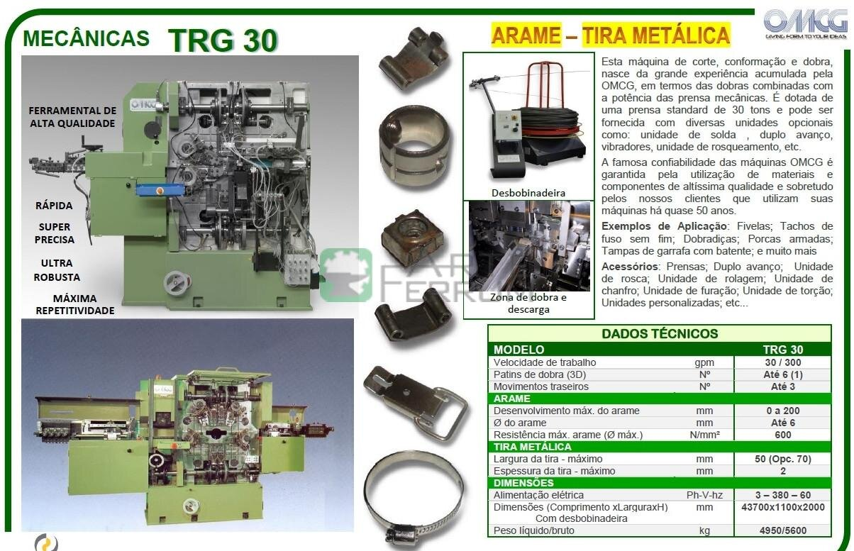 OMCG TRG 30 used blanking and forming mechanical machine combines (14)
