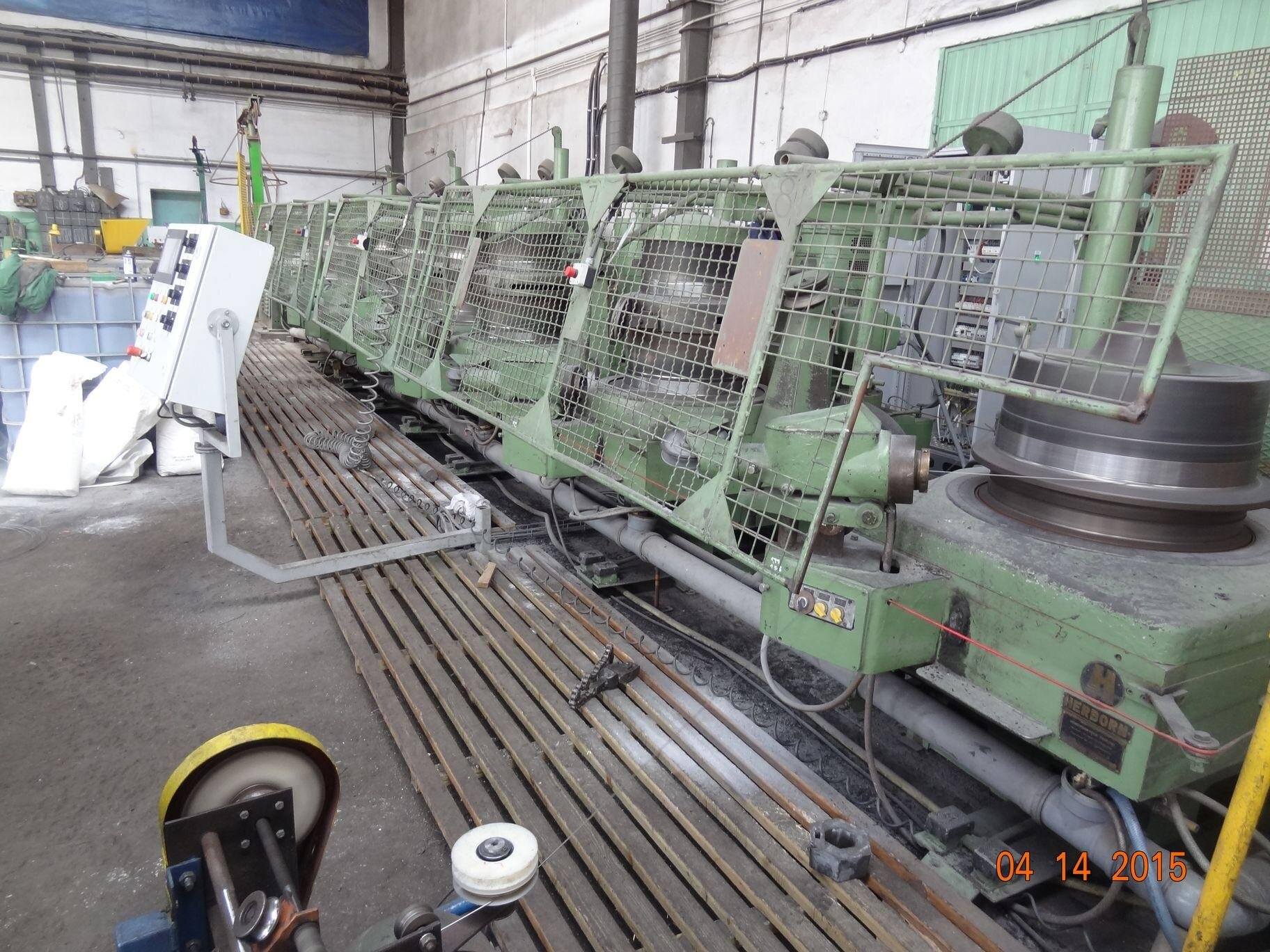 Wire drawing machines HERBORN Carlo Salvi 8GII v2 GII6 (12)43