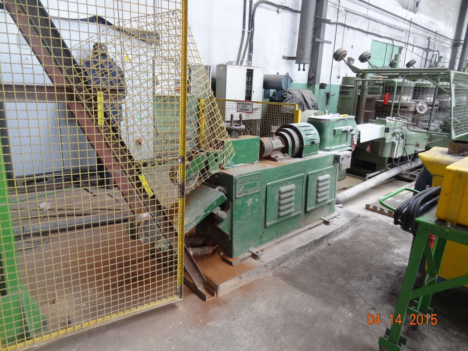Wire drawing machines HERBORN Carlo Salvi 8GII v2 GII6 (2)85