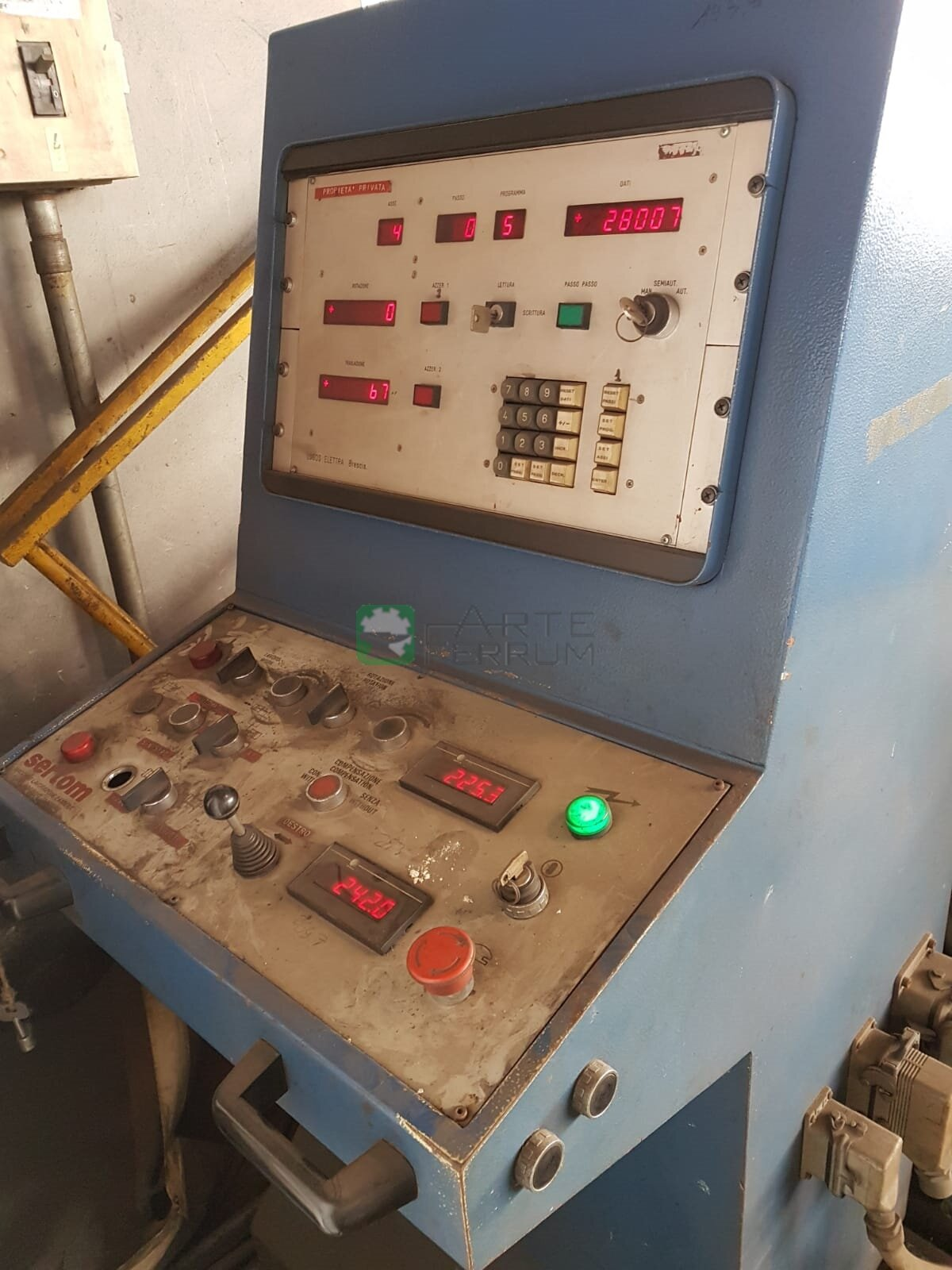 bender for tube pipes profiles Sertom PP 200 (10)