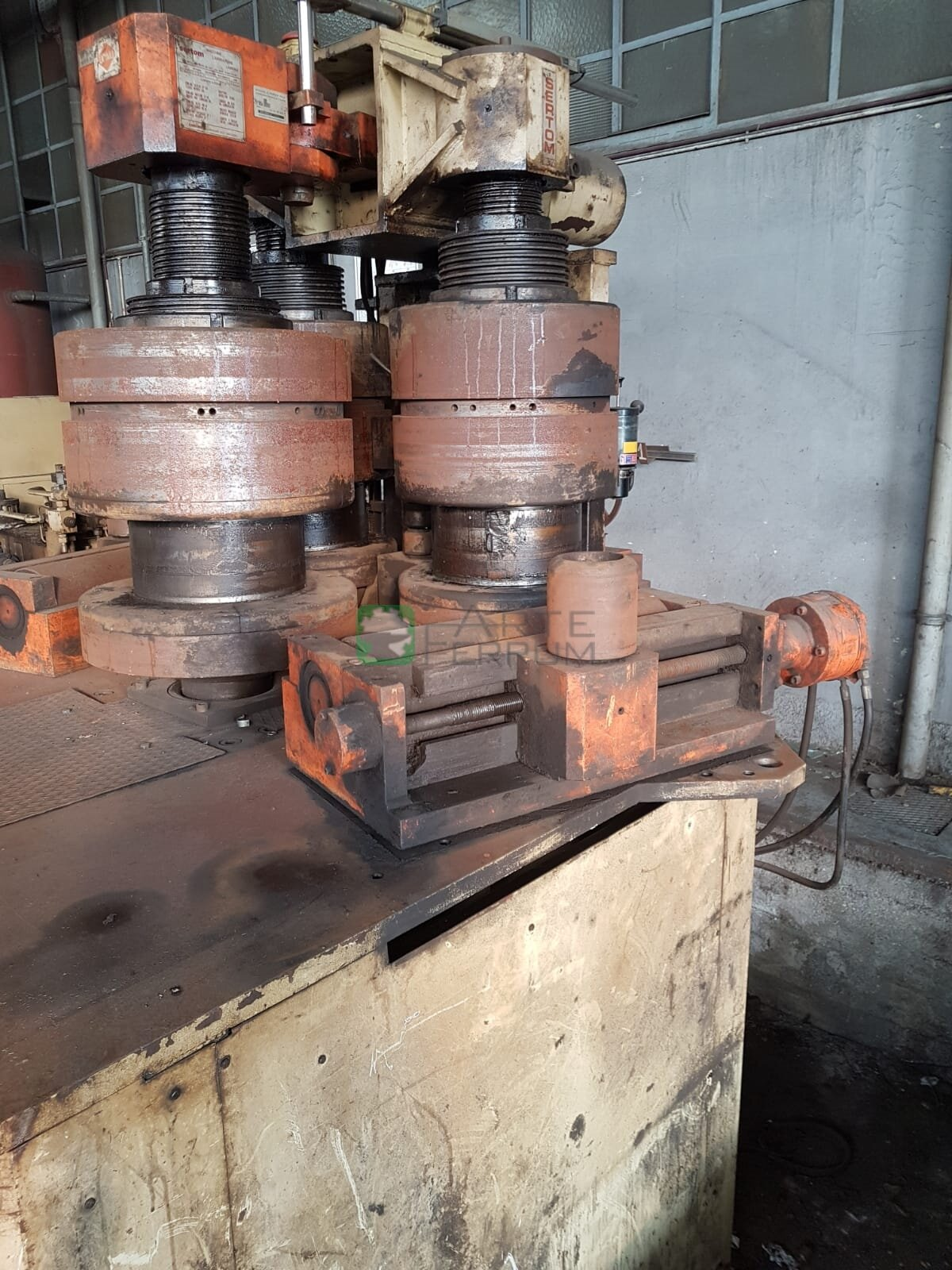 bender for tube pipes profiles Sertom PP 200