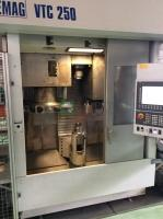 EMAG VTC 250 vertical lathe center