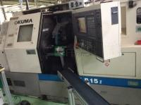 Okuma LB 15 II equipped with easily removable sanding unit