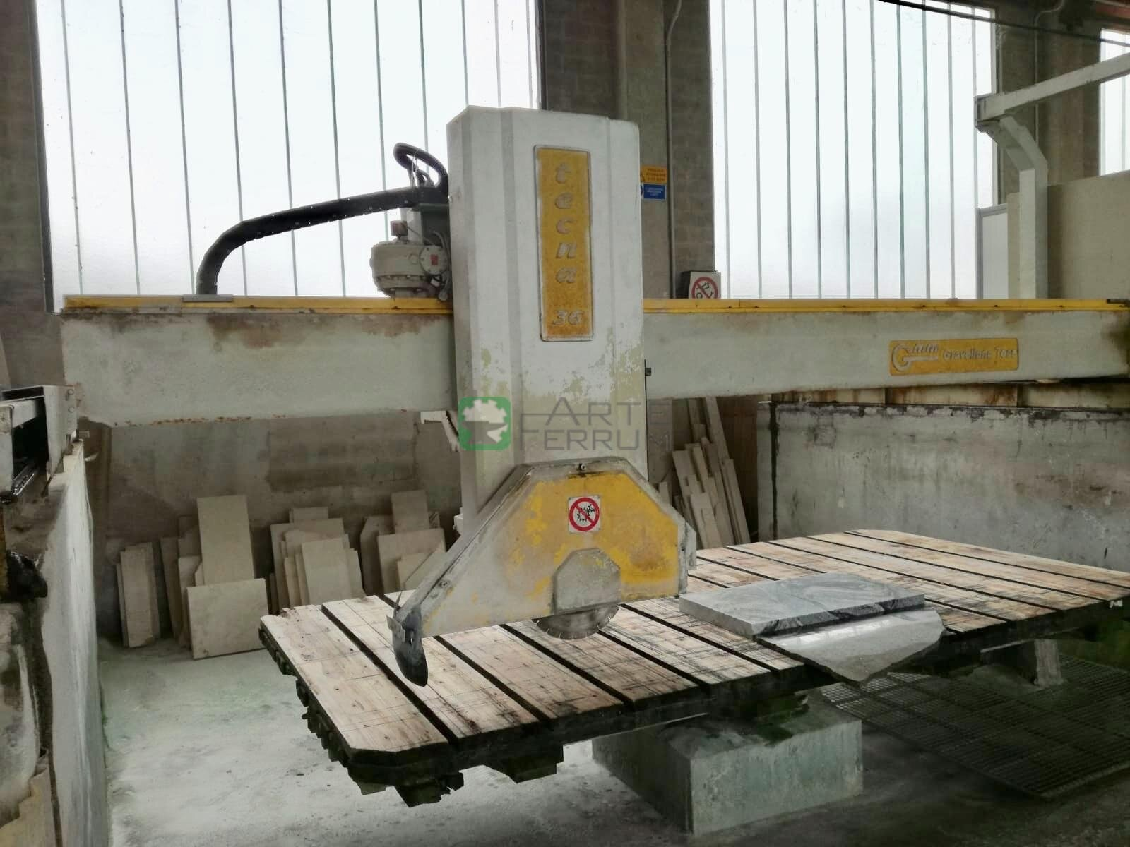 GMM TECNA 36 A bridge saw
