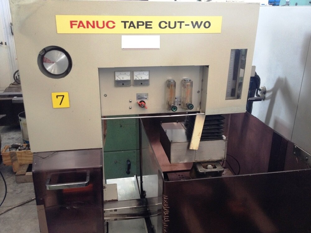 wire edm FANUC tape cut W0